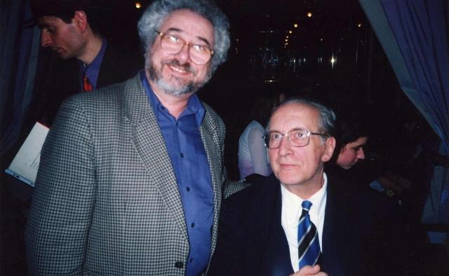 С Пьером Остером. Франция 2002