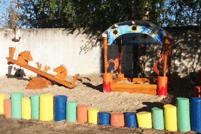 У ворот ярославской колонии появился детский городок
