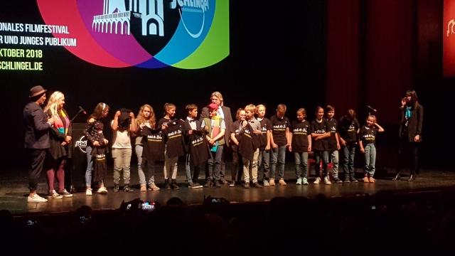 Фестиваль «Шлингель». На церемонии открытия — представление детского европейского жюри