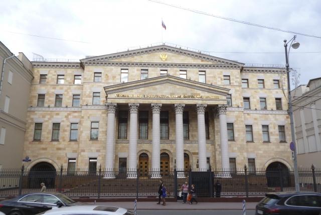 Здание прокуратуры, Москва