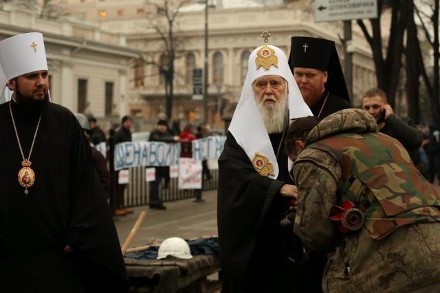 Филарет-Денисенко объявил о снятии с него анафемы Фанаром