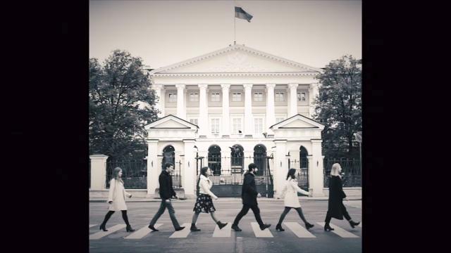 Петербургские журналисты проводили Полтавченко «с музыкой»