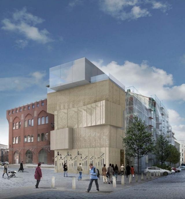 Проект музея архитектурного рисунка в Берлине. Архитектор Сергей Чобан