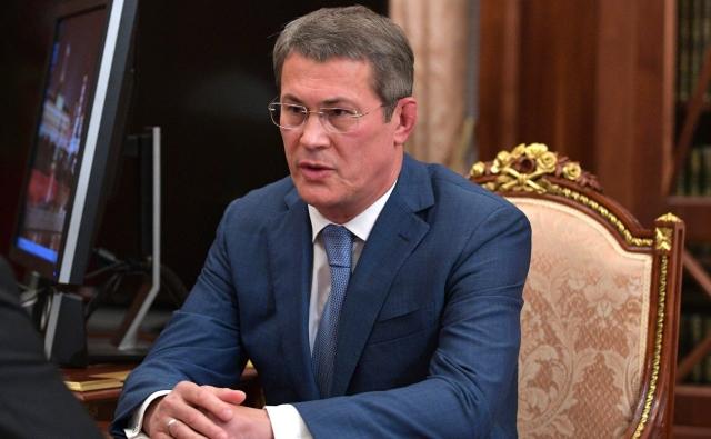Владимир Путин назначил Радия Хабирова врио главы Башкирии