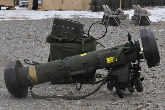 Переносной противотанковый ракетный комплекс «Джавелин»