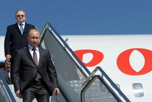 Путин прибыл в Белоруссию для участия в форуме регионов