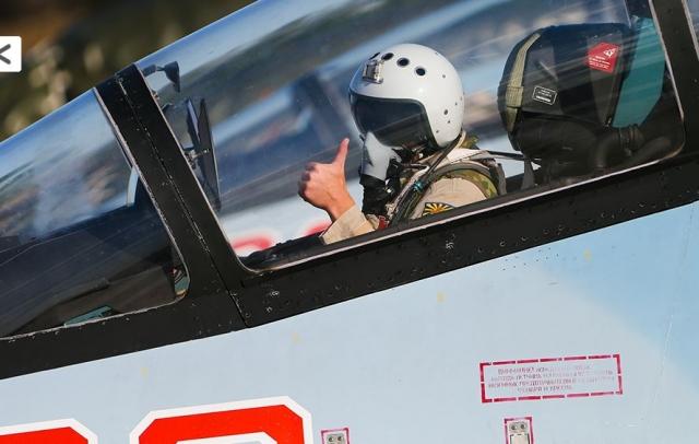 Пилот ВКС РФ в Сирии