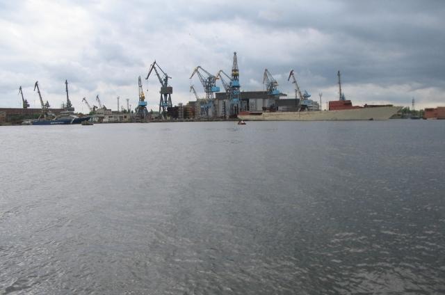 Калининградский завод «Янтарь» отчитался о ходе строительства судов