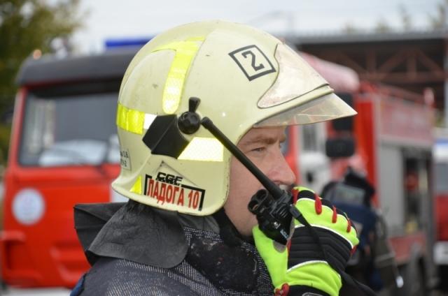Ликвидирован пожар в кафе на западе Московской кольцевой автодороги