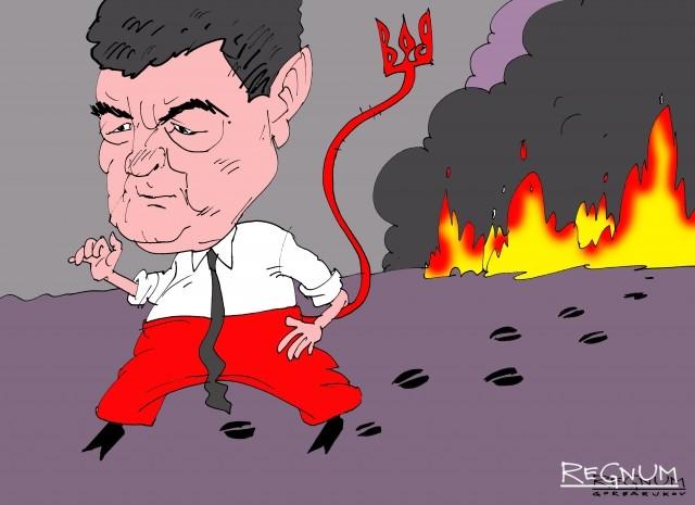 Пожары на артскладах Украины - только ли сокрытие воровства?