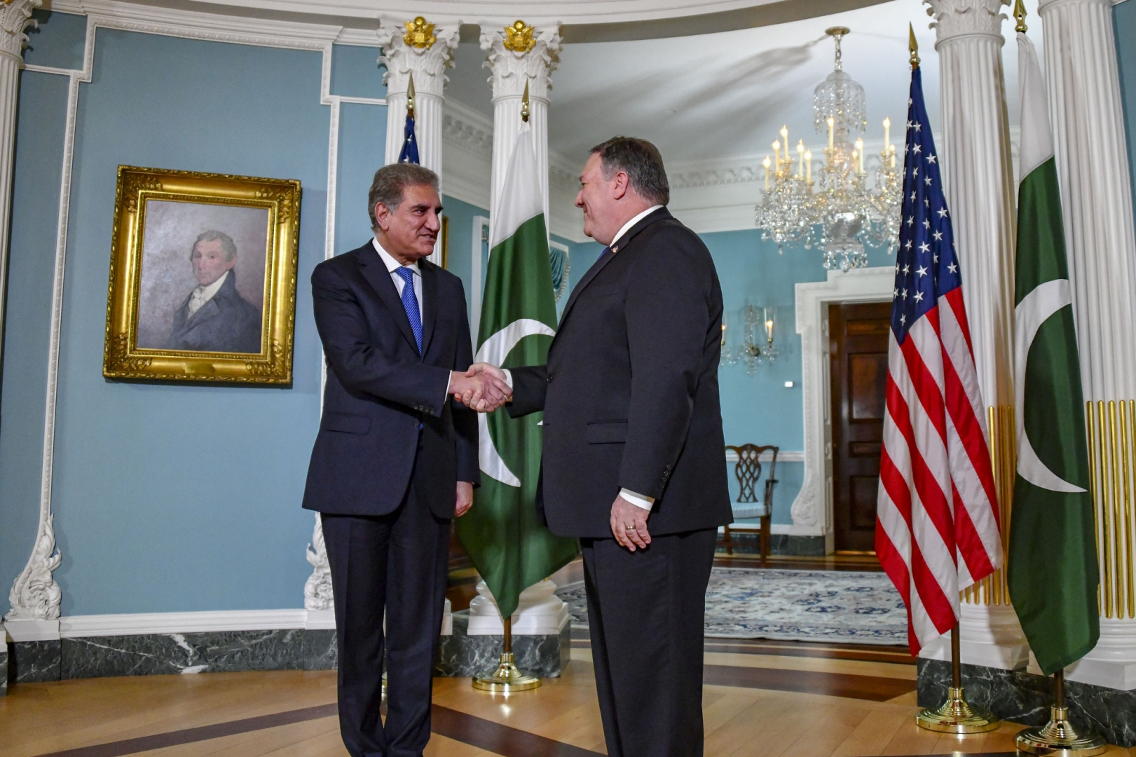 Майк Помпео в Пакистане