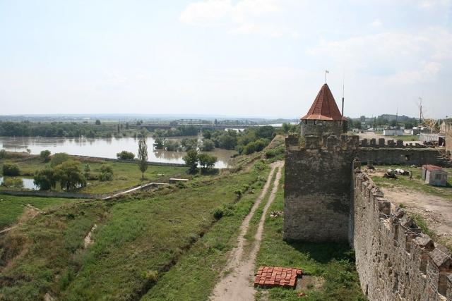 Бендерская крепость, в которой дислоцировались части 14-й армии