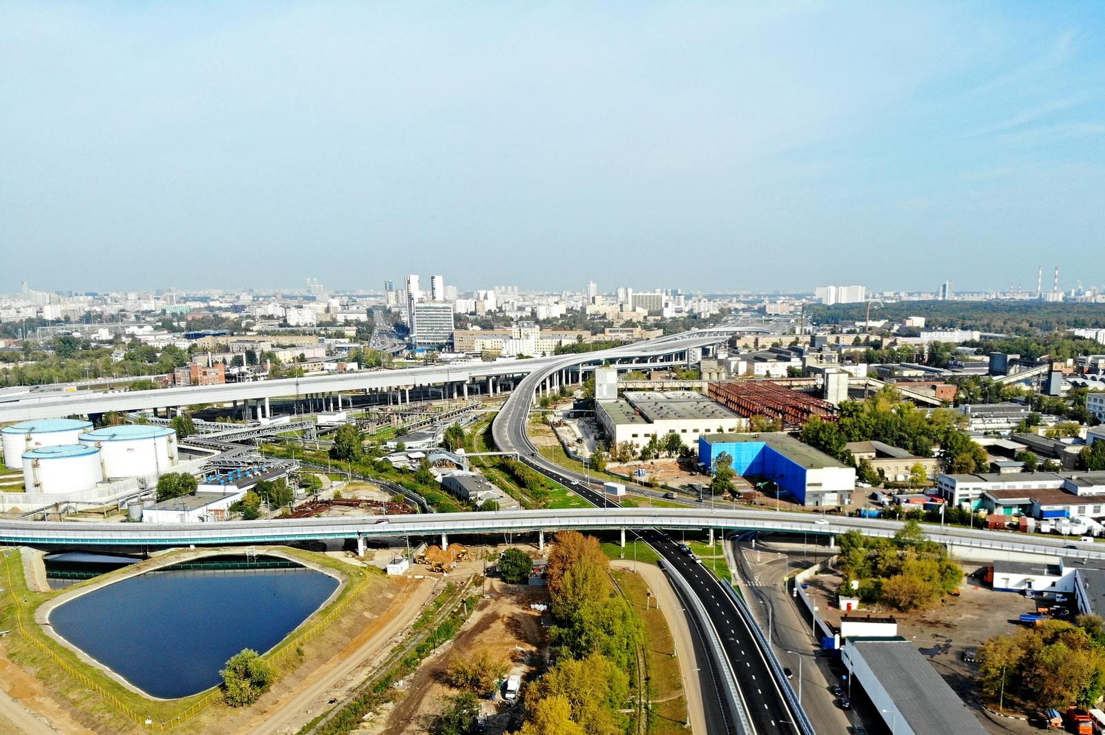 Северо-Восточная хорда. Москва