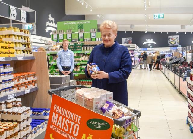 В Литве малоимущим раздадут продовольственные пайки