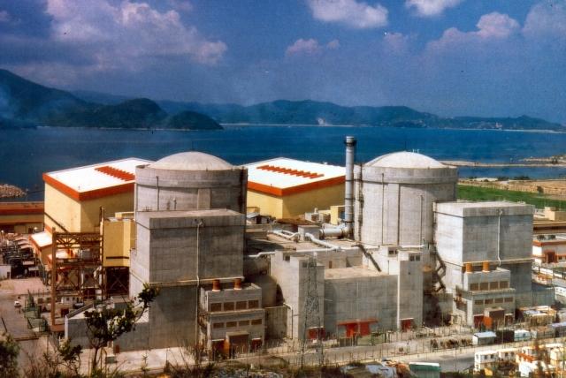 Атомная электростанция в Гуандуне, Китай