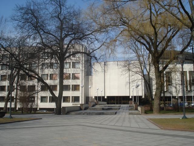 Здание правительства Литвы