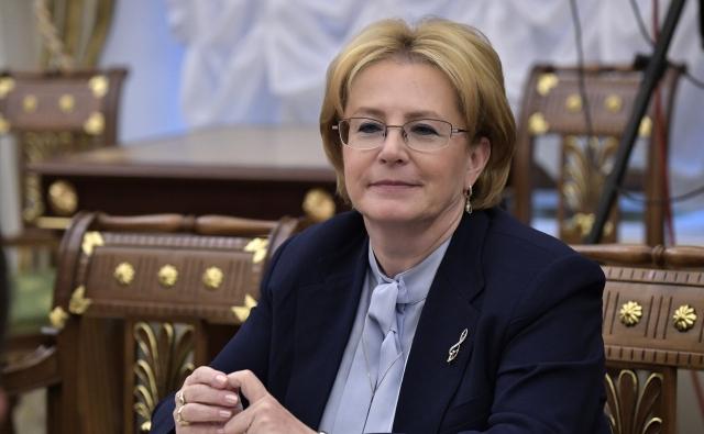 Глава Минздрава РФ Вероника Скворцова прилетела в Керчь