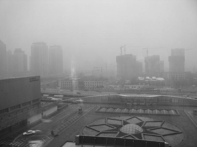В Южной Корее зафиксирован опасный уровень смога принесенного из Китая