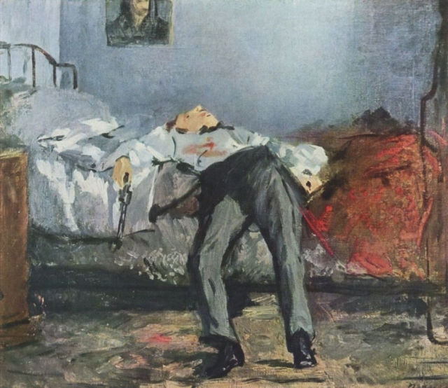 Эдуар Мане. Самоубийца. 1877