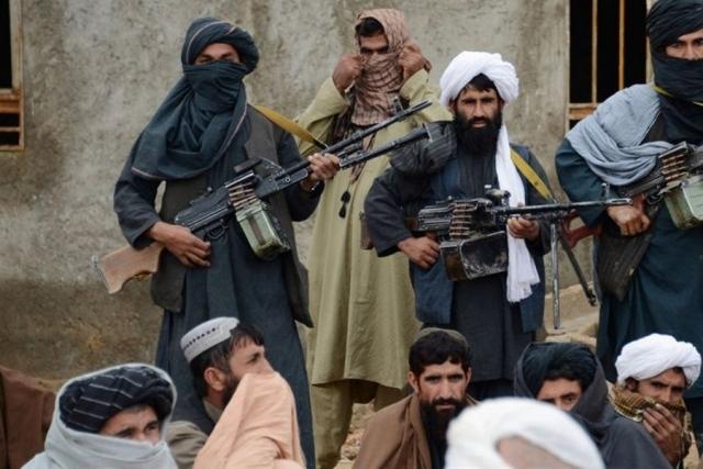 Террористы. Афганистан