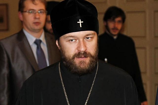 Митрополит Иларион обсудит с папой римским ситуацию с церковью на Украине