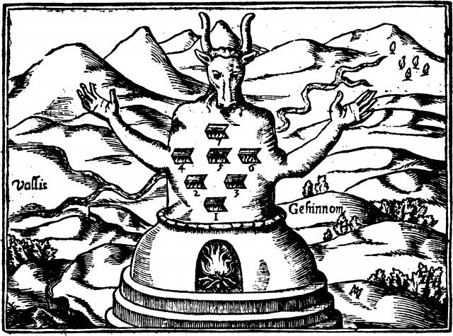 Афанасий Кирхер. Молох. 1652