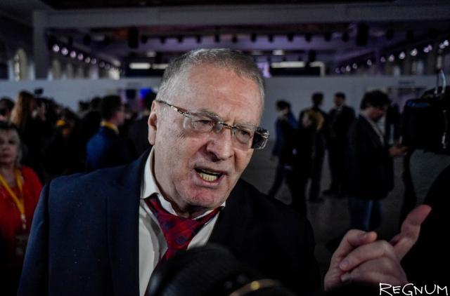 ЛДПР грозит пикетами в случае назначения Зимина в руководство РЖД