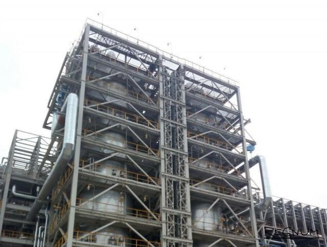 Реакторы гидрокрекинга, произведенные Группой ОМЗ для комплекса «ТАНЕКО»