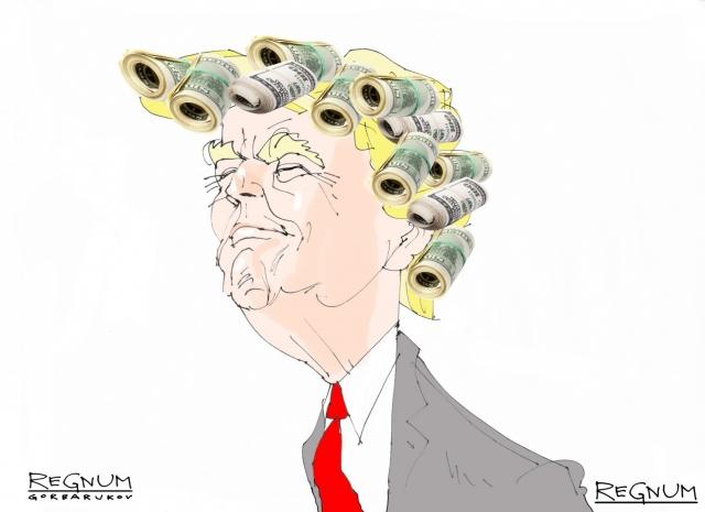 У Трампа опять «самый большой» — не только ядерный потенциал, но и кошелек
