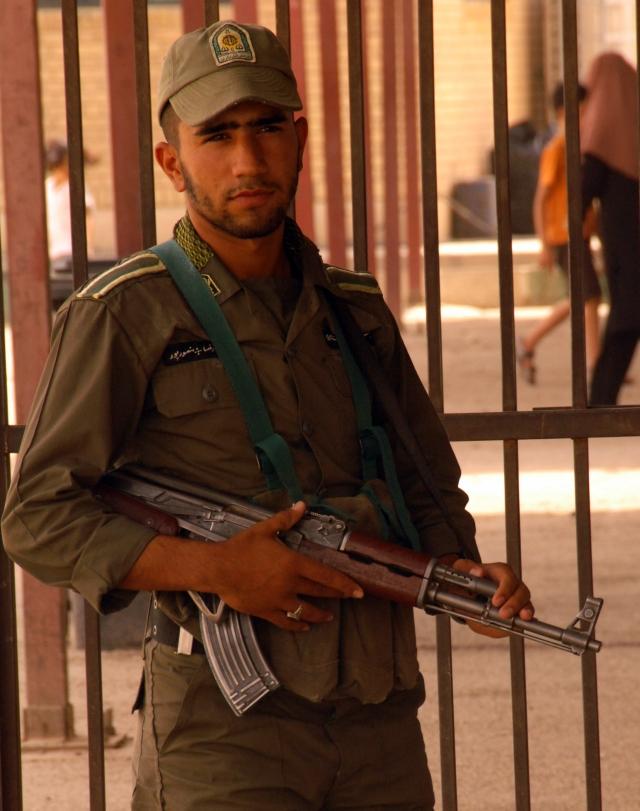 Иранский пограничник