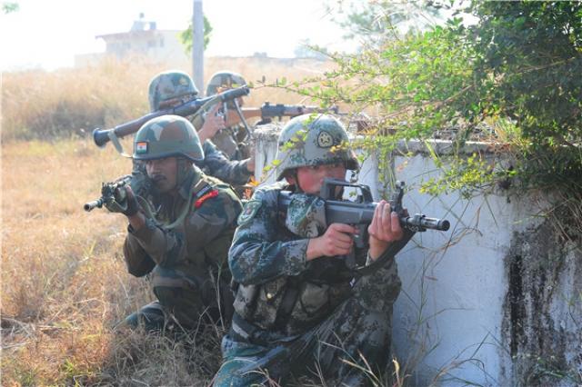 Индийско-китайские антитеррористические учения