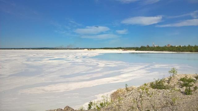 Шламонакопитель «Белое море»