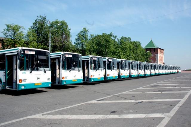 Автобусы. Нижний Новгород