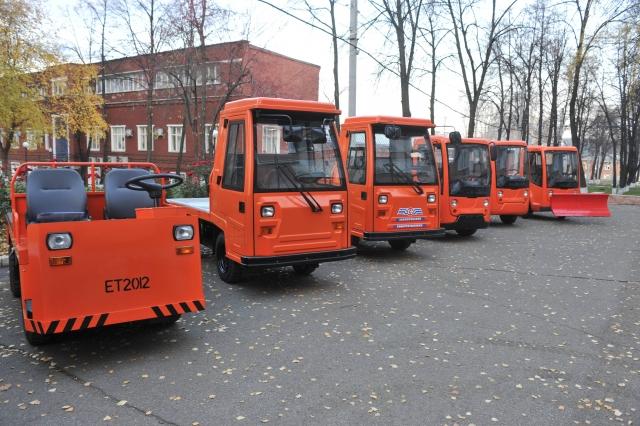 В Удмуртии разработали электромобиль для городского хозяйства