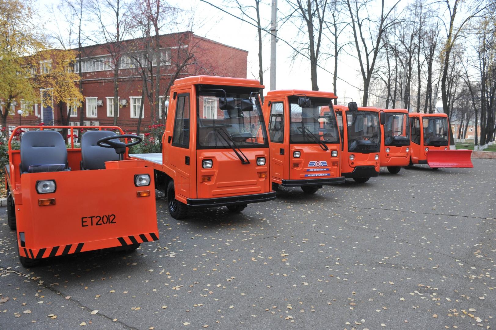 Электромобиль для городского хозяйства