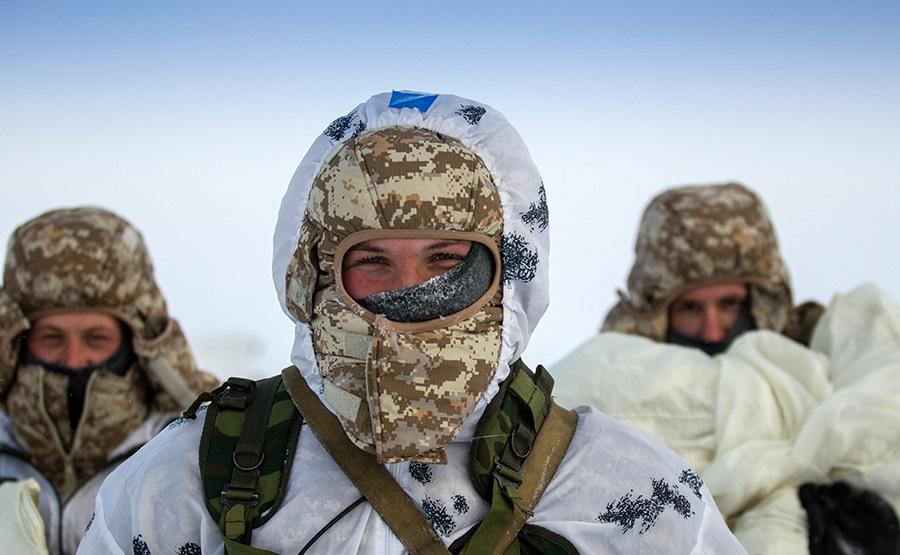 Российские солдаты в Арктике