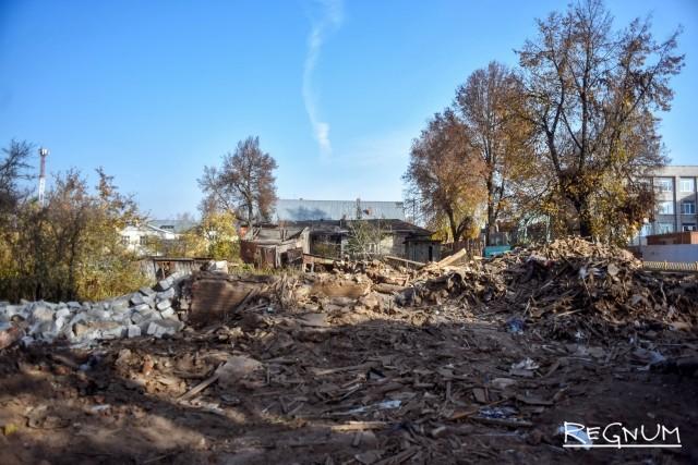 В СК РФ дадут оценку властям Боровска, разрешившим снос центра города