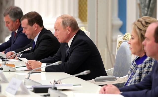 Путин: Госкорпорации должны вложиться в «проекты прорыва»