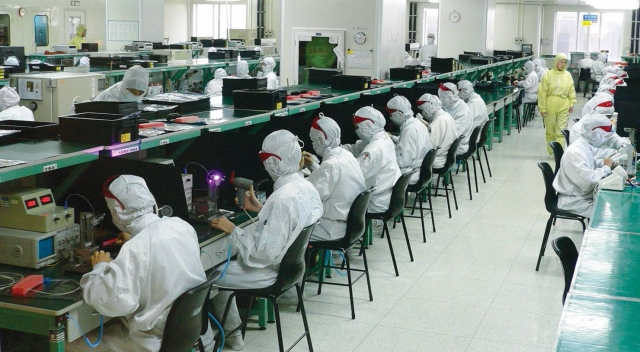 Китайское предприятие в сфере высоких технологий