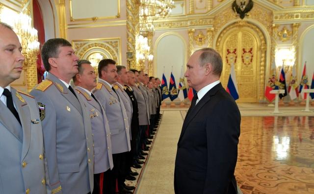 Путин: ФСБ России с начала 2018 года предотвратила 15 терактов