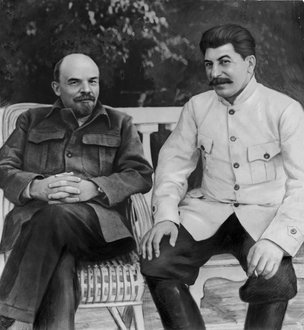 Ленин и сталин картинки, привет как