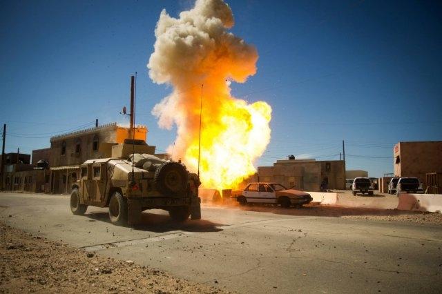 Взрыв. Афганистан