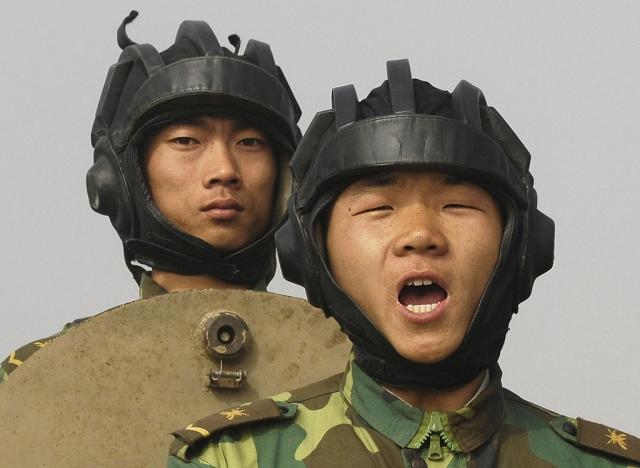 Китайские танкисты