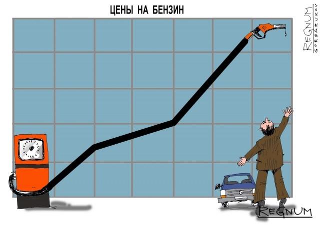 В Минэнерго рассказали о росте цен на бензин