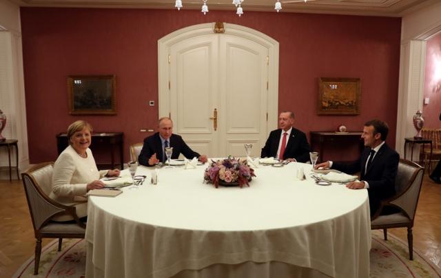 Путин и Эрдоган заставили Макрона и Меркель играть по своим правилам