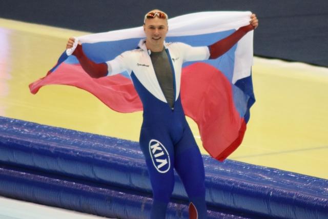 Павел Кулижников стал чемпионом России на конькобежной дистанции 1000 м