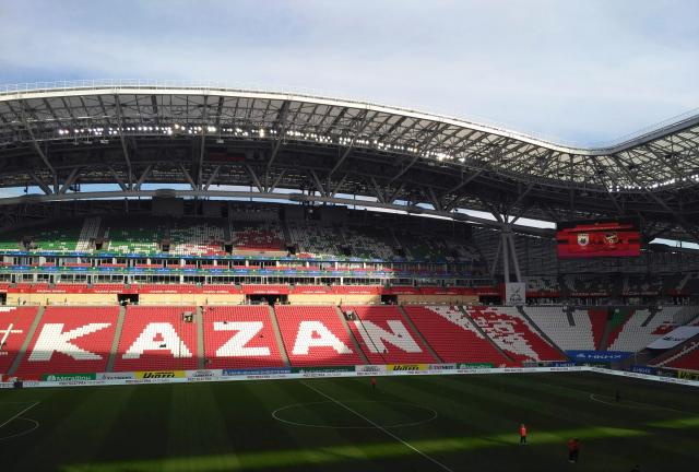 Свыше 20 тыс. фанатов ожидается на матче «Спартак» — «Рубин» в Казани
