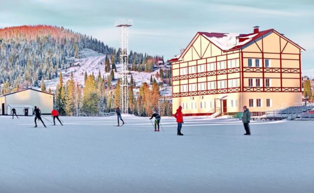 Сборная России по лыжным гонкам уже тренируется в Хакасии