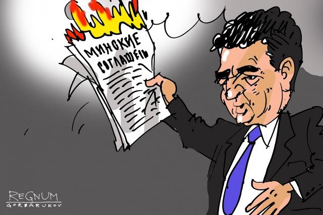 Небензя назвал ответственных за срыв Киевом Минских соглашений