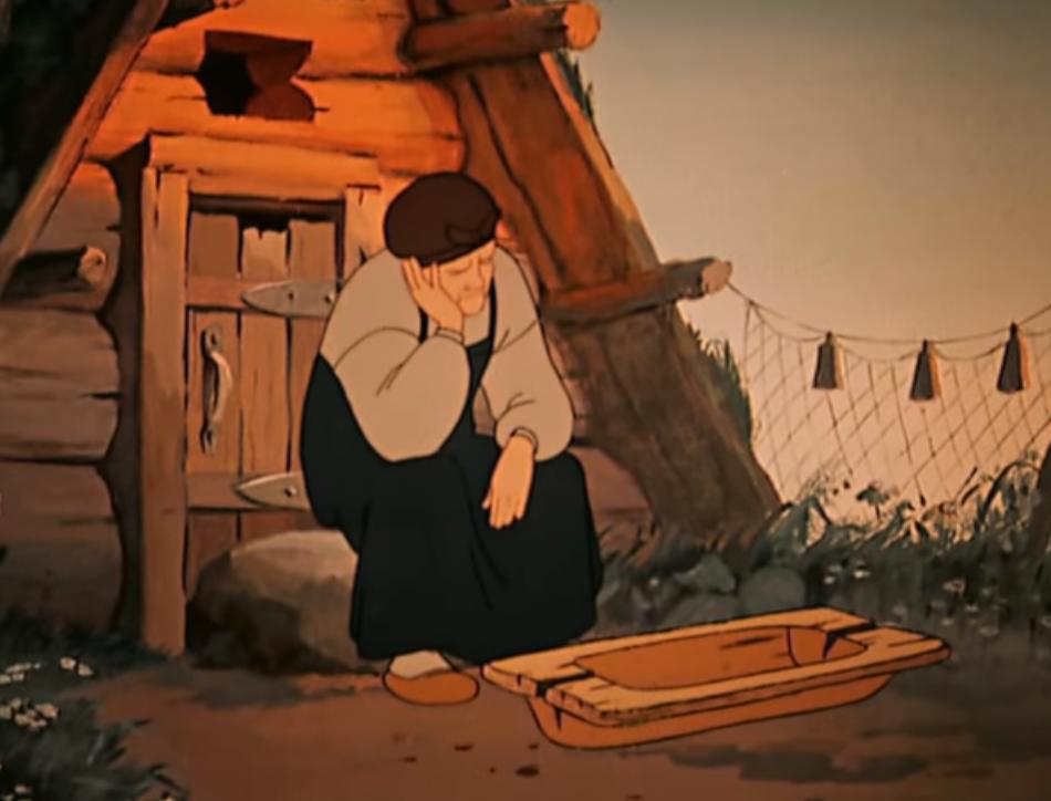 У разбитого корыта